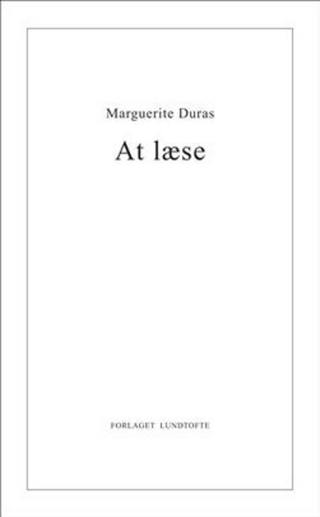At læse af Marguerite Duras