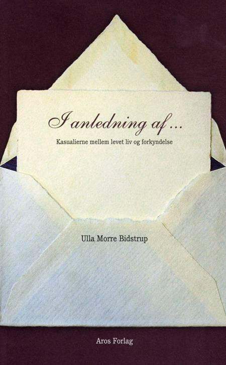 I anledning af af Ulla Morre Bidstrup