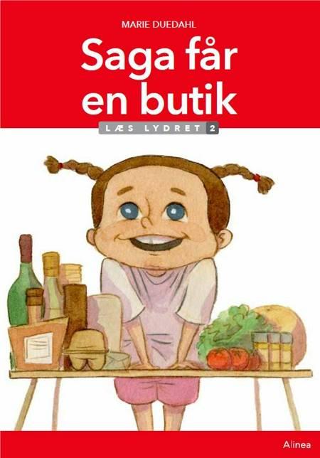 Saga får en butik, Læs Lydret 2 af Marie Duedahl