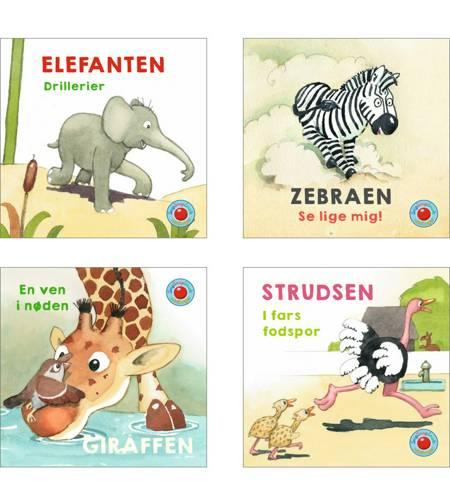 Snip Snap Snude: En dag i Zoo 1-4 (æske med 48 stk. ass. - pris pr. stk. ca. kr. 11,95 af Jan Mogensen