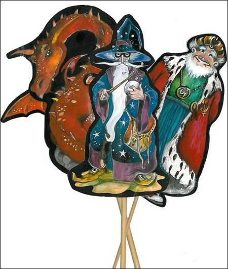 Wings 4 kl. 9 A4 ark figurer