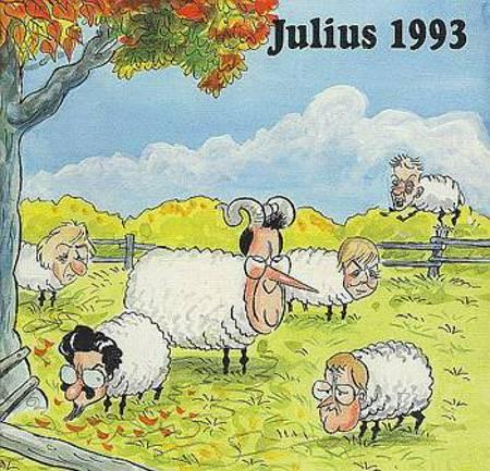 Julius tegninger 1993 af Jens Julius Hansen