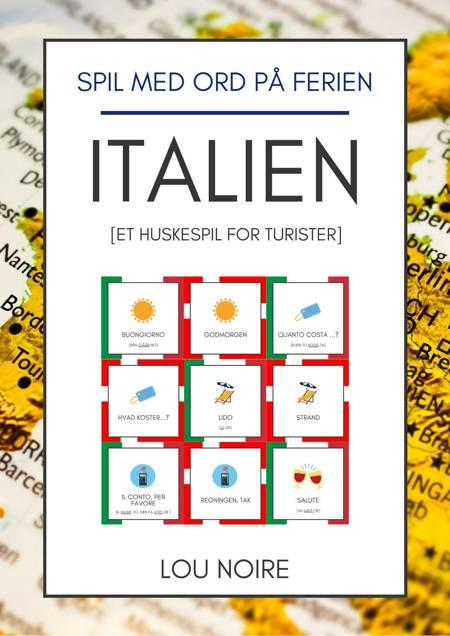 Spil med ord på ferien - Italien af Lou Noire