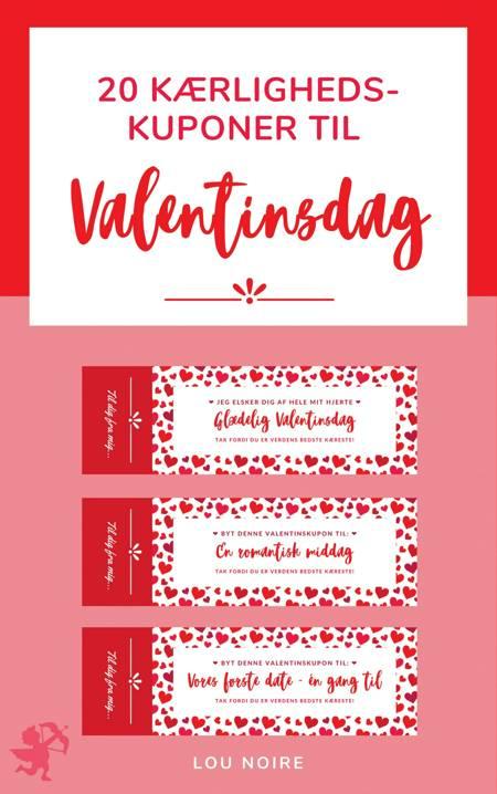 Kærlighedskuponer til Valentinsdag af Lou Noire