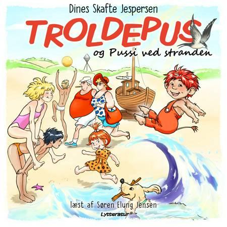 Troldepus og Pussi ved stranden af Dines Skafte Jespersen