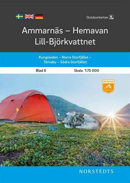 Ammarnäs - Hemavan - Lill-Björkvattnet af Norstedts