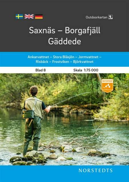 Saxnäs - Borgafjäll - Gäddede af Norstedts