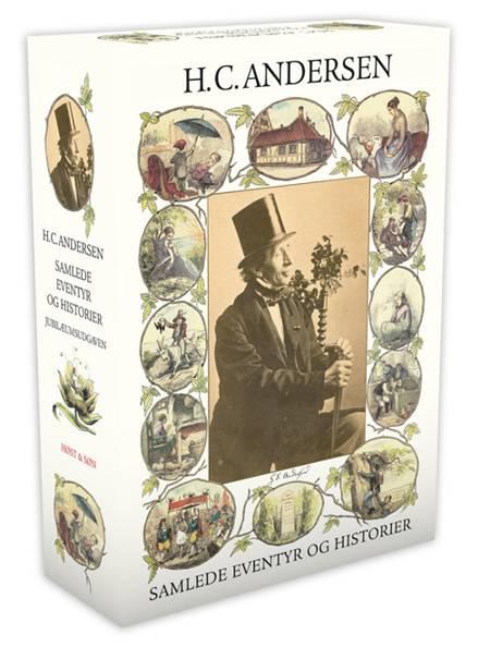 Samlede eventyr og historier. Rød kassette af H.C. Andersen