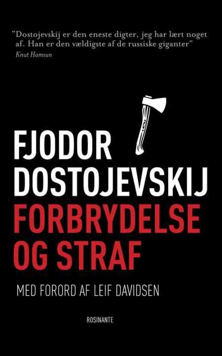 Forbrydelse og straf af F. M. Dostojevskij