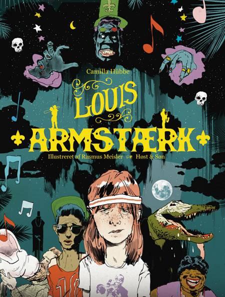 Louis Armstærk af Camilla Hübbe