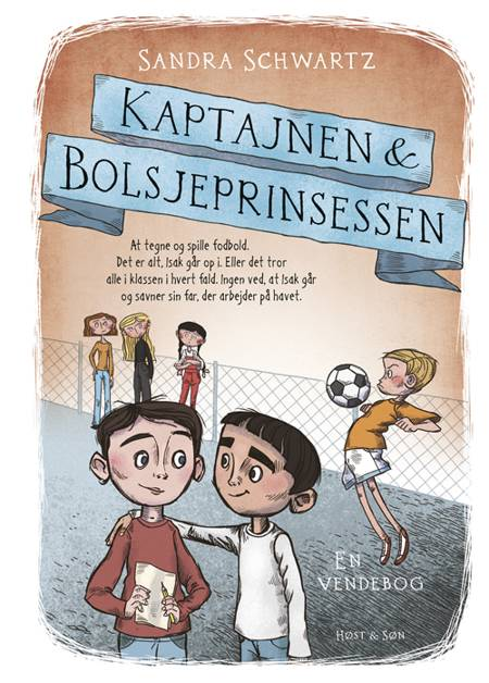 Kaptajnen & Bolsjeprinsessen af Sandra Schwartz