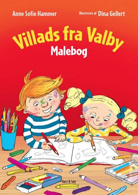 Villads fra Valby Malebog af Anne Sofie Hammer