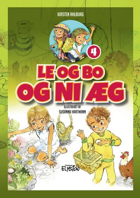 Le og Bo og ni æg af Kirsten Ahlburg