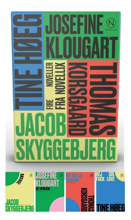 Gaveæske med fire noveller af Klougart, Korsgaard, Høeg & Skyggebjerg af Josefine Klougart, Tine Høeg og Thomas Korsgaard m.fl.