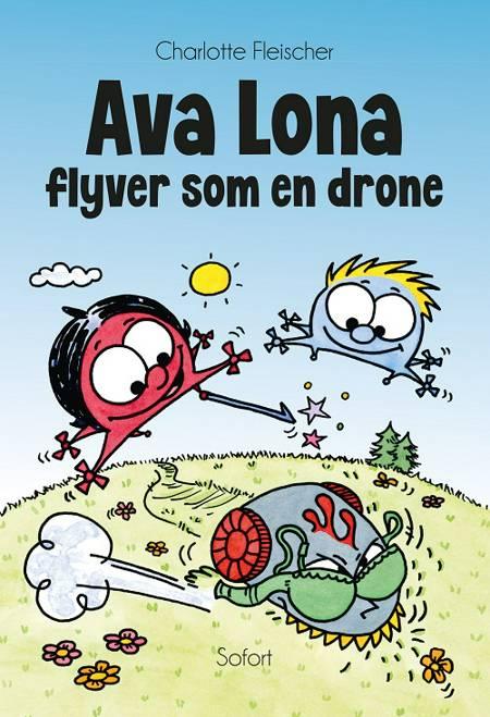 Ava Lona flyver som en drone af Charlotte Fleischer