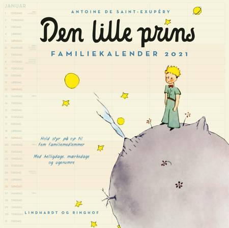 Den lille prins, familiekalender 2021 af Antoine de Saint-Exupéry
