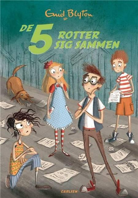 De 5 (21) - De 5 rotter sig sammen af Enid Blyton