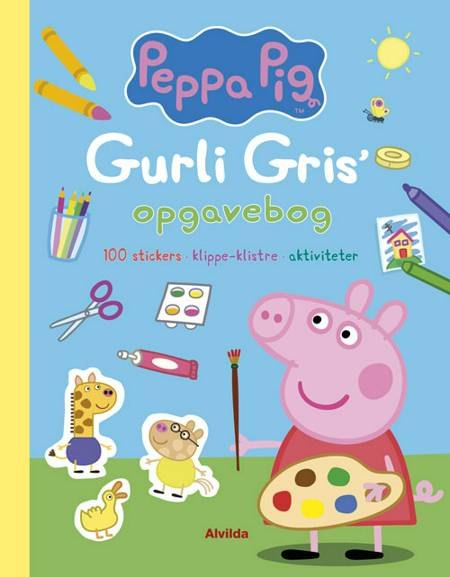 Gurli Gris' opgavebog (100 stickers, klippe-klistre, aktiviteter)