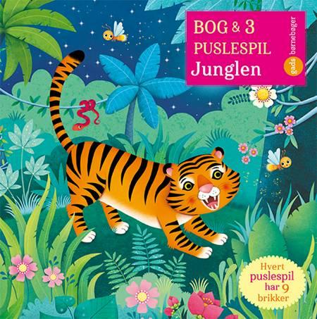 Bog og 3 puslespil om Junglen af Sam Taplin