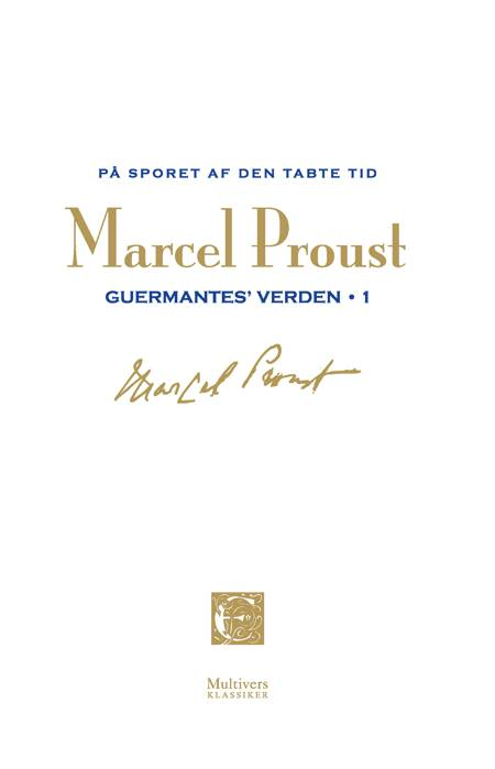 På sporet af den tabte tid: Guermantes verden 2 af Marcel Proust