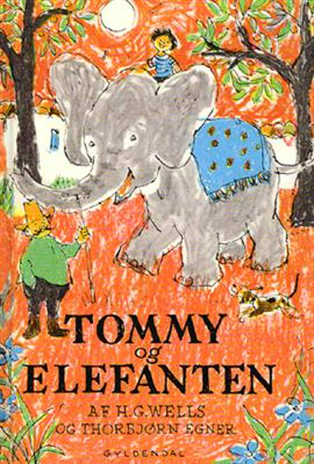 Tommy og elefanten af Thorbjørn Egner