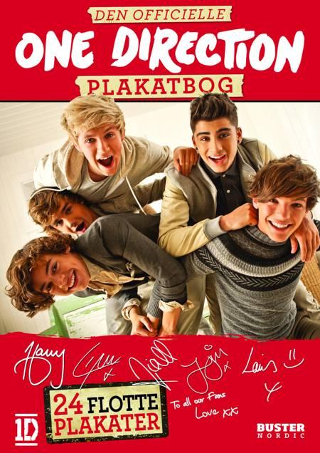 Den officielle One Direction plakatbog