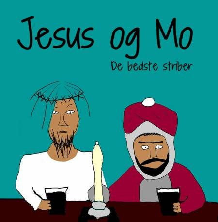 Jesus og Mo af Jesusandmo.net