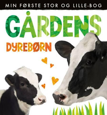 Gårdens dyrebørn - Min første stor og lille bog (sæt á 2 stk. Pris pr. stk. 149,95)