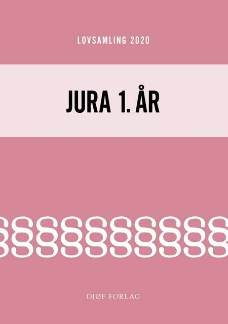 Lovsamling 2020 - Jura 1. år af Jens Møller