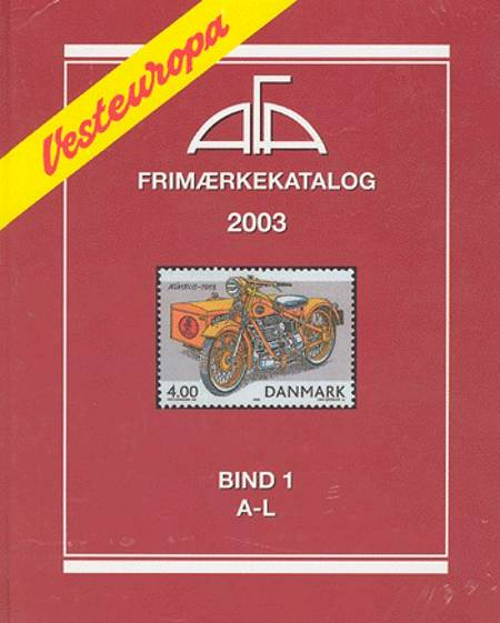 AFA Vesteuropa frimærkekatalog