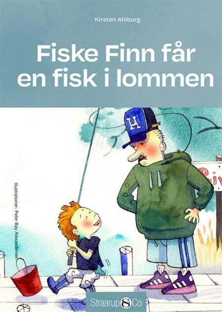 Fiske Finn får en fisk i lommen af Kirsten Ahlburg