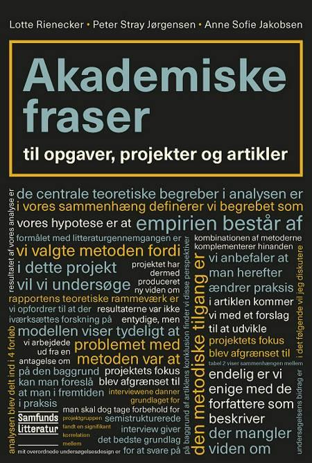 Akademiske fraser af Lotte Rienecker og Peter Stray Jørgensen