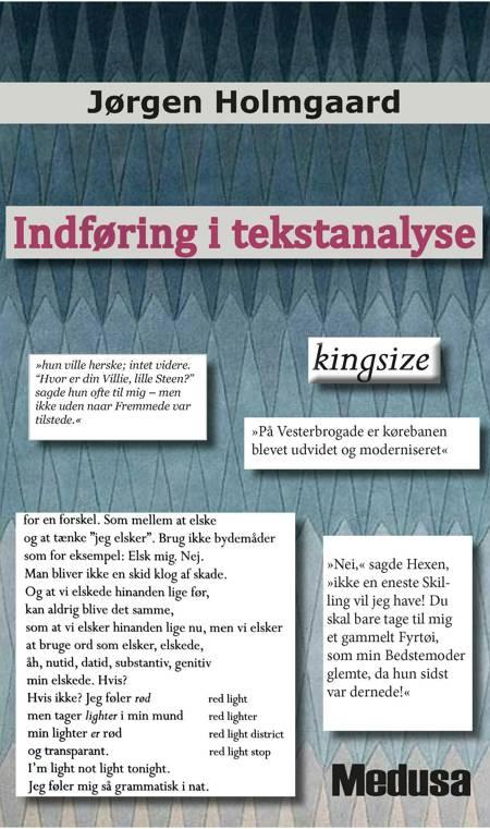 Indføring i tekstanalyse af Jørgen Holmgaard