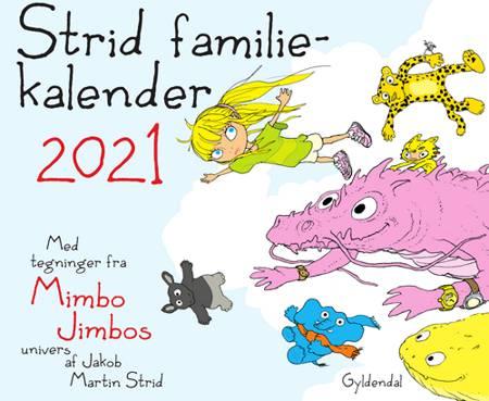 Strid familiekalender 2021 af Jakob Martin Strid
