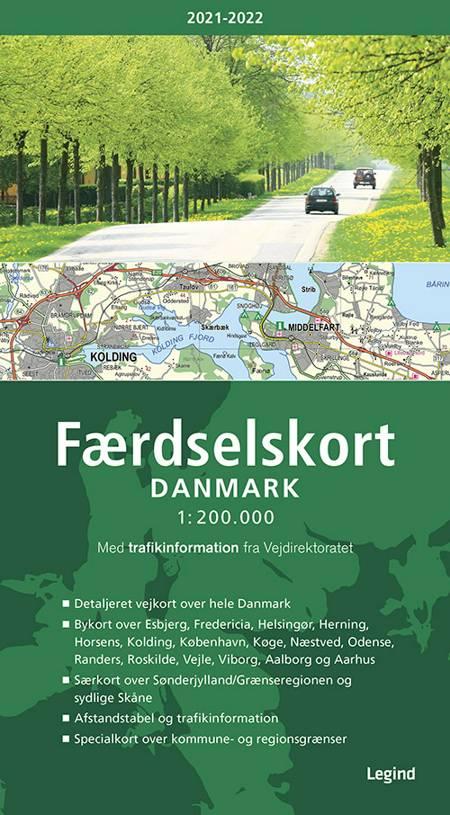 Færdselskort Danmark 2021-2022