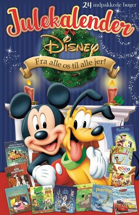 Disney Julekalender med 24 indpakkede bøger