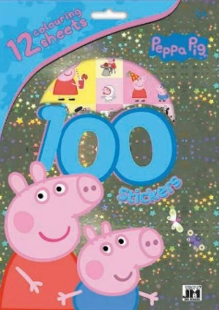 Gurli Gris - 100 stickers
