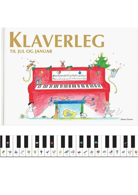 Klaverleg til jul og januar af Pernille Holm Kofod