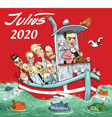 Julius Tegninger 2020 af Jens Julius Hansen