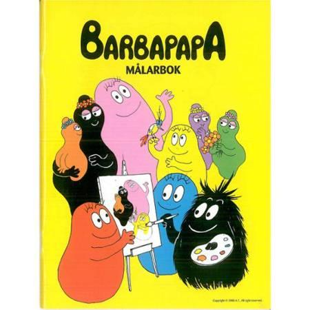 Barbapapa målarbok af Hjelm Förlag