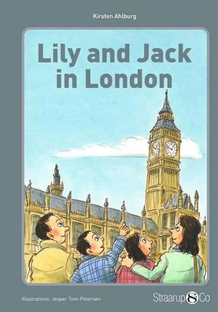 Lily and Jack in London (uden gloser) af Kirsten Ahlburg