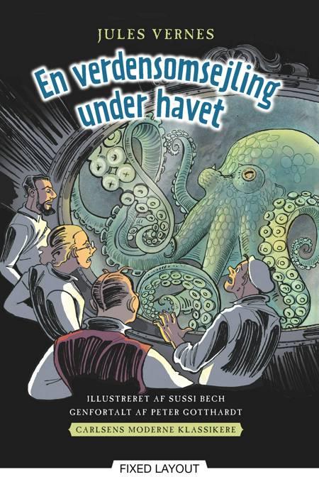Carlsens Moderne klassikere 2: Jules Vernes En verdensomsejling under havet af Peter Gotthardt