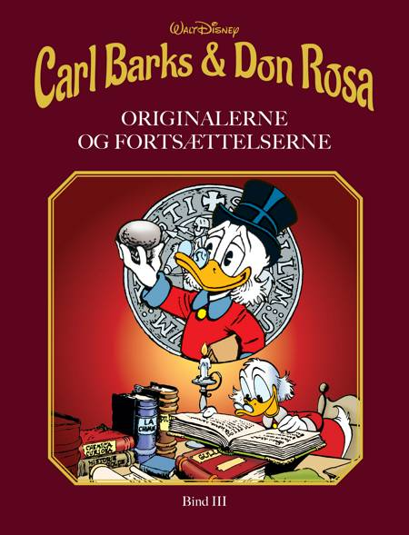 Carl Barks & Don Rosa Bind III af Disney