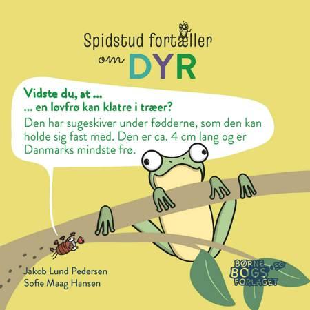 Spidstud fortæller om dyr af Jakob Lund Pedersen og Sofie Maag Hansen