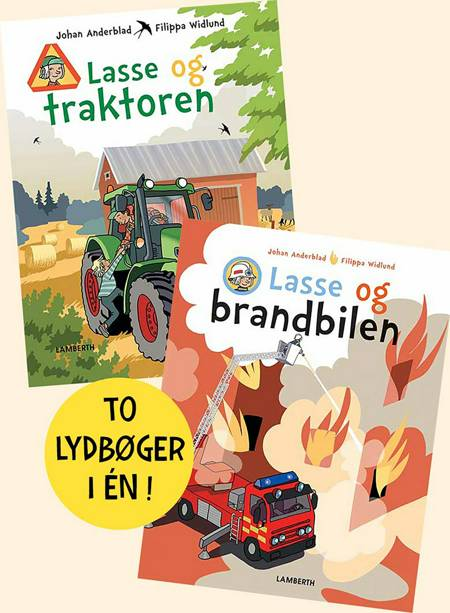 Lasse og traktoren og Lasse og brandbilen af Johan Anderblad