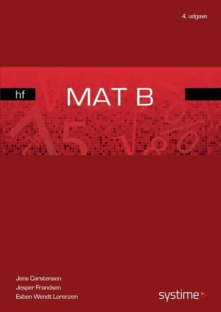 Mat B - hf af Jesper Frandsen, Jens Carstensen, Jens Studsgaard og Esben Wendt Lorenzen