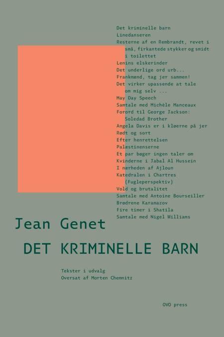 Det kriminelle barn af Jean Genet