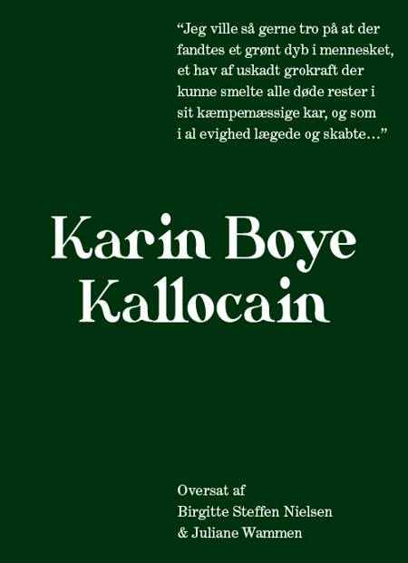 Kallocain af Karin Boye