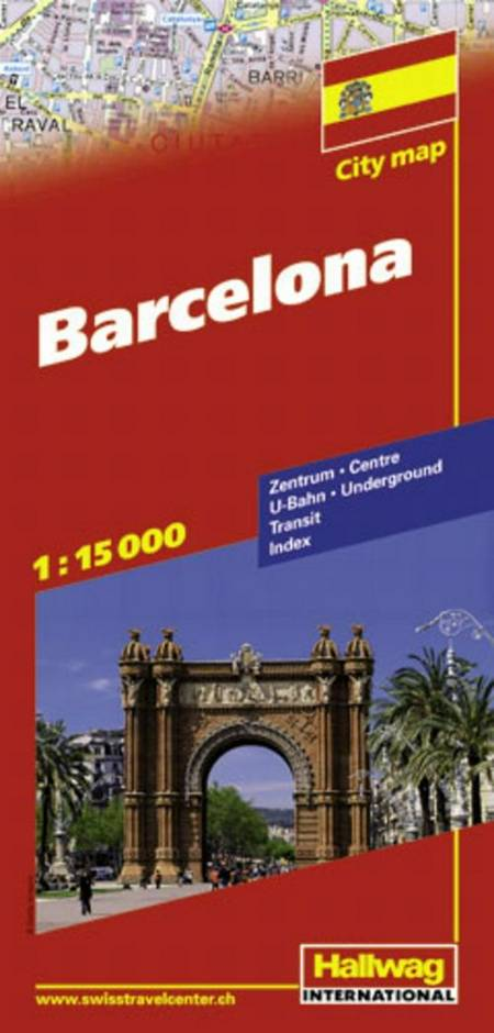 Hallwag, bykort, Barcelona