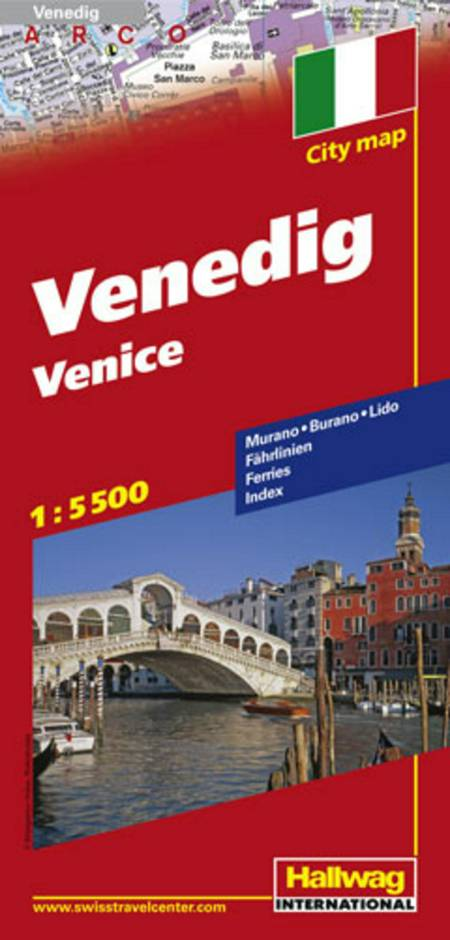 Hallwag, bykort, Venedig